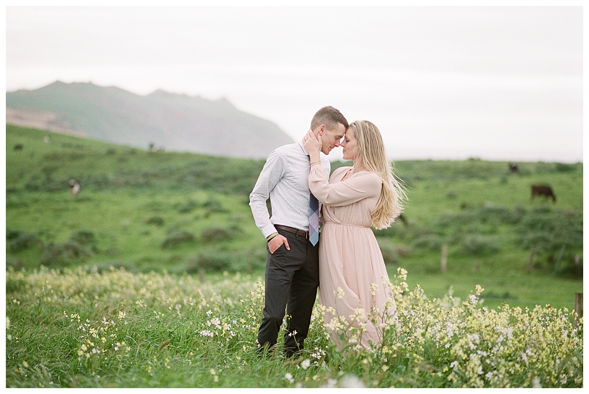 point reyes engagement, destination engagement session, point reyes elopement photographer, point reyes engagement photographer, california elopement photographer, film engagement session