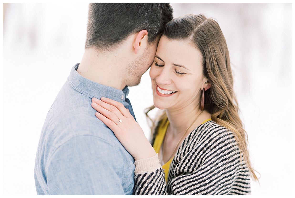 minneapolis engagement session, minnesota wedding photographer, minnesota engagement photographer, winter engagement session