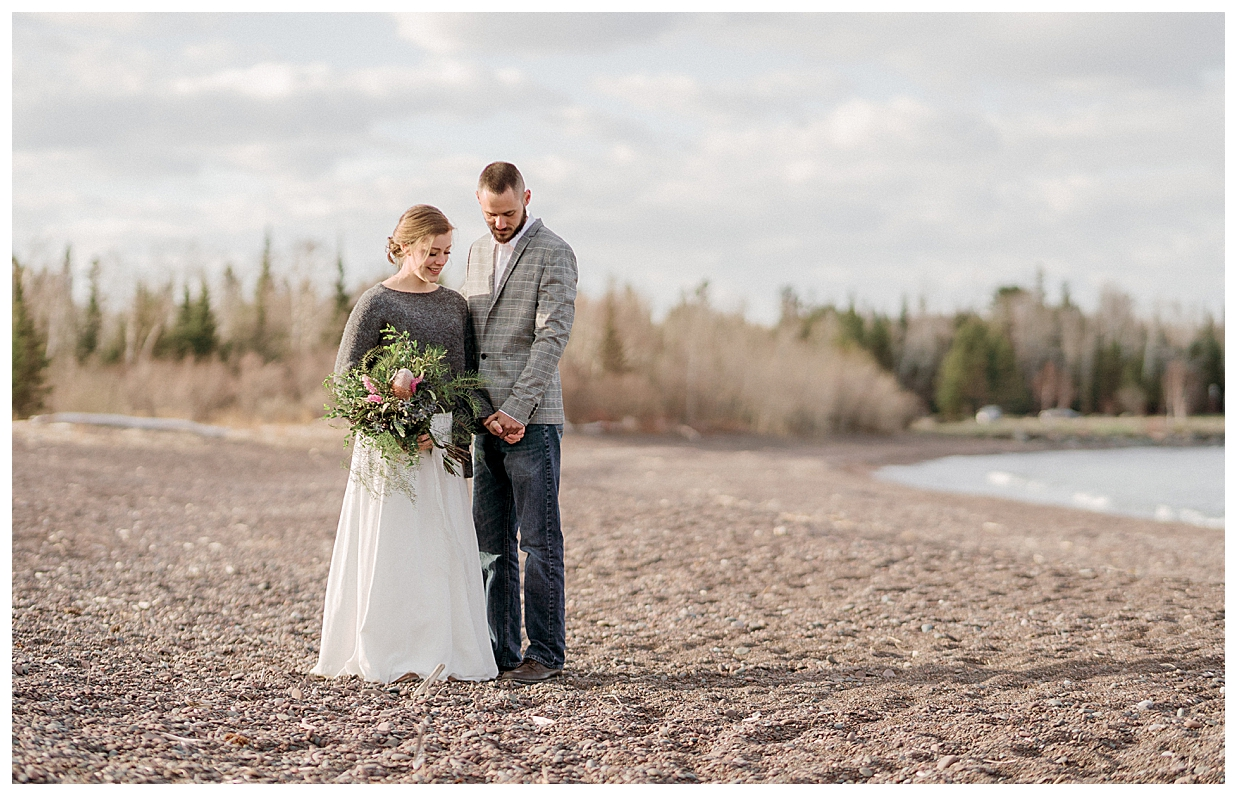 Superior Shores Resort Wedding in Two Harbors Minnesota, Duluth wedding photographer, sunset on Lake Superior, north shore elopement, vow renewals on the north shore,
